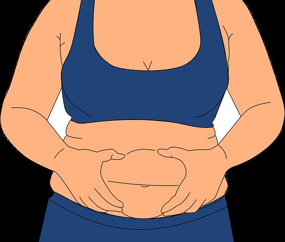 Astuces pour diminuer la charge massique du ventre