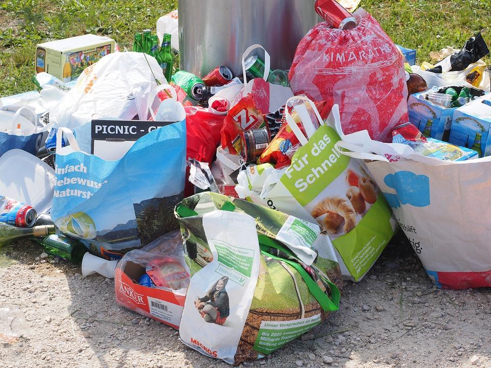 Pollution des déchets